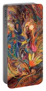 The Women Of Tanakh - Miriam With Timbrels Portable Battery Charger