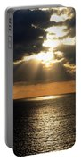 Key West Sunset The Word Portable Battery Charger