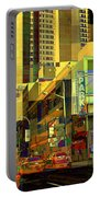 Theatre District - Neighborhoods Of New York City Portable Battery Charger