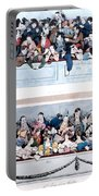 Theatre, Paris, C1830 Portable Battery Charger