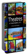 Theatres Of Washington Dc Portable Battery Charger by Jost Houk