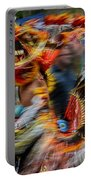 Their Spirit Is Among Us - Nanticoke Powwow Delaware Portable Battery Charger by Kim Bemis