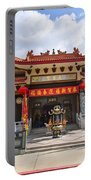 Thien Hau Temple A Taoist Temple In Chinatown Of Los Angeles. Portable Battery Charger