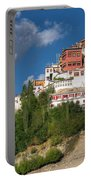 Thiksay Monastery Ladakh Jammu And Kashmir India Portable Battery Charger