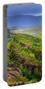 Thingvellir National Park Rift Valley Portable Battery Charger