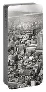 This Is Tokyo In Black And White Portable Battery Charger