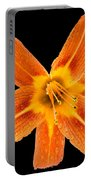 This Orange Lily Portable Battery Charger