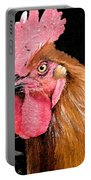 this Rooster Means Business Portable Battery Charger
