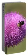 Thistle And A Bee Portable Battery Charger