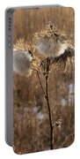 Thistle Fluff Portable Battery Charger