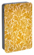 Thistle Wallpaper Design, Late 19th Portable Battery Charger