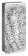 Thomas Gray: Elegy, 1750 Portable Battery Charger