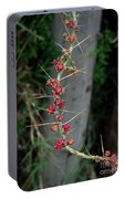 Thorns And Blooms Portable Battery Charger