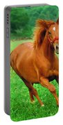 Thoroughbred Filly Portable Battery Charger