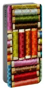 Thread Reels Portable Battery Charger