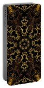 Threads Of Gold And Plaits Of Silver Portable Battery Charger