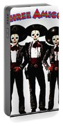 Three Amigos - Day Of The Dead Portable Battery Charger
