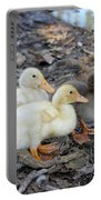 Three Baby Ducks Portable Battery Charger