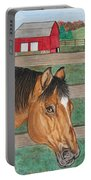 Three Beautiful Horses Portable Battery Charger