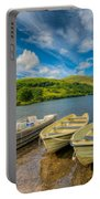 Three Boats Portable Battery Charger by Adrian Evans