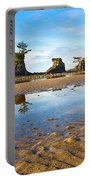Three Brothers Rock Formation Near The Oregon Coast Portable Battery Charger