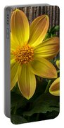 Three Dahlias Portable Battery Charger
