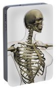 Three Dimensional View Of Female Rib Portable Battery Charger