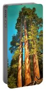 Three Giant Sequoias Digital Portable Battery Charger
