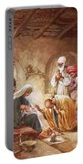 Three Kings Worship Christ Portable Battery Charger by William Brassey Hole