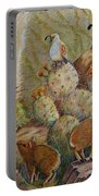 Three Little Javelinas Portable Battery Charger