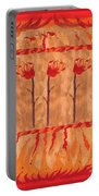Three Of Wands Portable Battery Charger