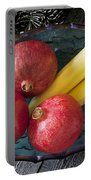Three Pomegranates  Portable Battery Charger