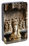 Three Saints In Marble Portable Battery Charger