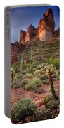 Three Sisters Sunset  Portable Battery Charger