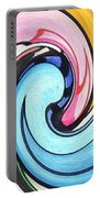 Three Swirls Portable Battery Charger