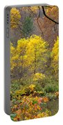 Three Yellow Trees Portable Battery Charger
