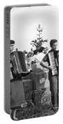 Three Young Accordion Players Portable Battery Charger
