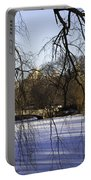 Through The Branches 1 - Central Park - Nyc Portable Battery Charger