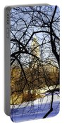 Through The Branches 3 - Central Park - Nyc Portable Battery Charger