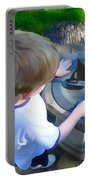 Through The Eyes Of A Child Portable Battery Charger