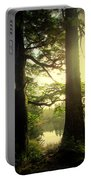 Through The Forest To The Lake Portable Battery Charger