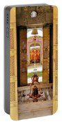 Through The Temple Doors India Portable Battery Charger