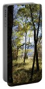 Through The Trees Portable Battery Charger