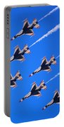 Thunderbirds Jet Team Flying Fast Portable Battery Charger