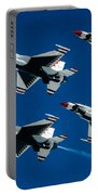 Thunderbirds Portable Battery Charger by Larry Miller