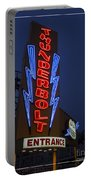 Thunderbolt Rollercoaster Neon Sign Portable Battery Charger