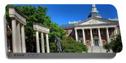 Thurgood Marshall Memorial And Maryland State House Portable Battery Charger