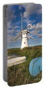 Thurne Dyke Windpump Norfolk Portable Battery Charger