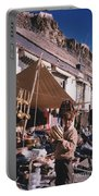 Tibet Market At Gyantse By Jrr Portable Battery Charger