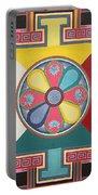 Tibetan Mandala Portable Battery Charger
